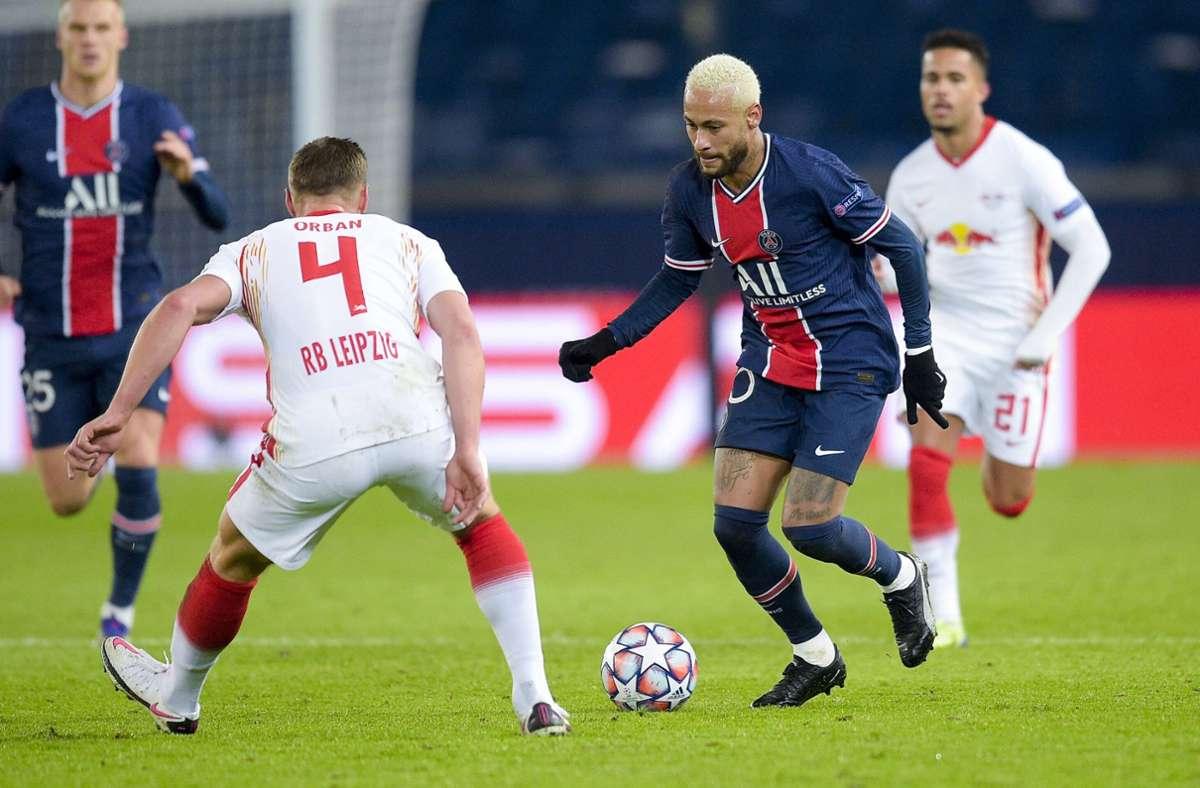Die Sachsen stehen nach dem Spiel gegen Paris Saint-Germain mit leeren Händen da. Foto: imago images/PanoramiC/JB Autissier via www.imago-images.de