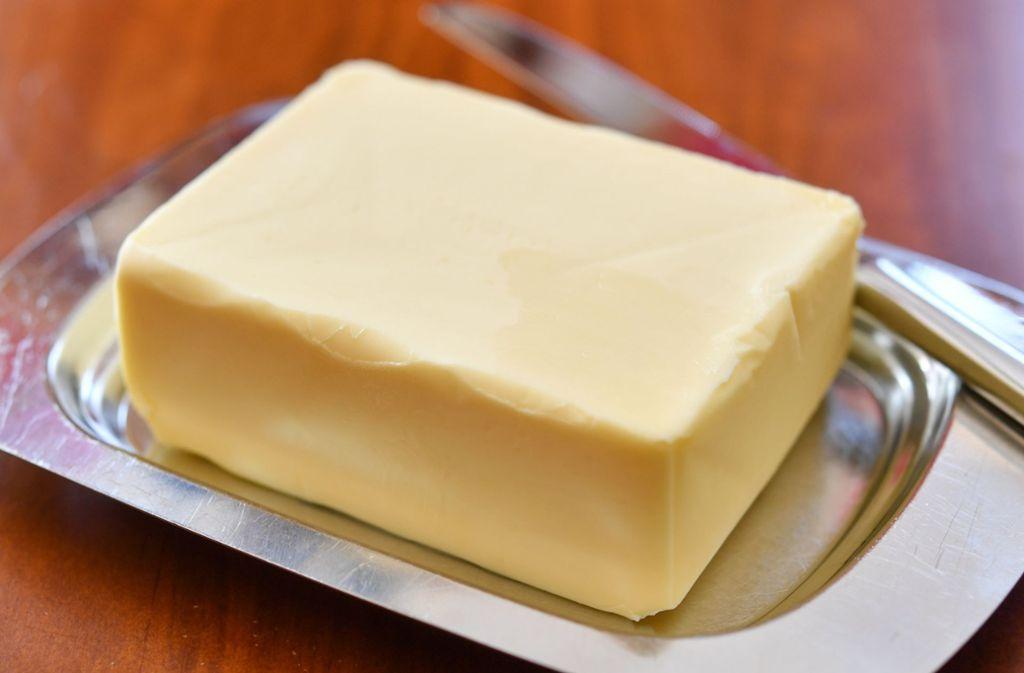 1,75 Euro sollen 250 Gramm Butter künftig bei Aldi Süd kosten. (Symbolbild) Foto: dpa-Zentralbild