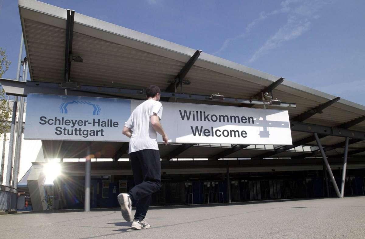 Die Tage der Schleyer-Halle in Stuttgart sind gezählt. Foto: imago/nn
