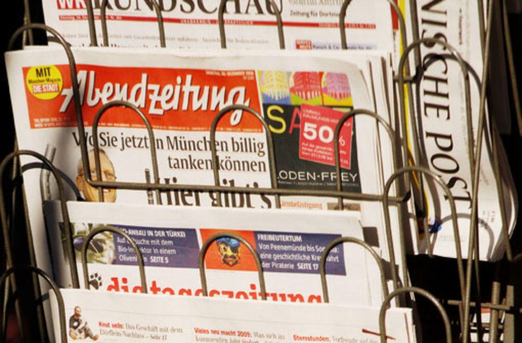 Nach Millionenverlusten sieht es schlecht aus für die Münchner Abendzeitung. Foto: dpa