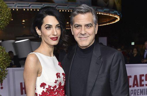 Amal und George Clooney sind Eltern