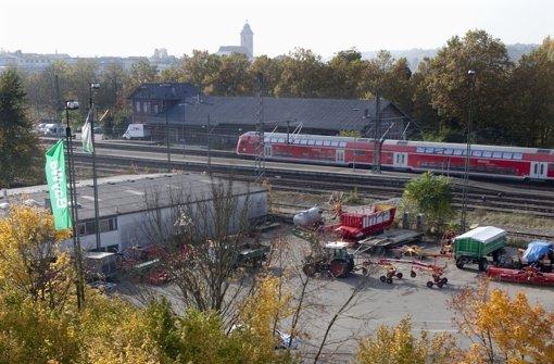 Stadt hält Daumen auf östliche Bahnstadt