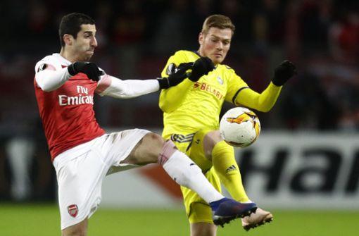 Arsenal verzichtet im Europa-League-Finale auf Henrich Mchitarjan