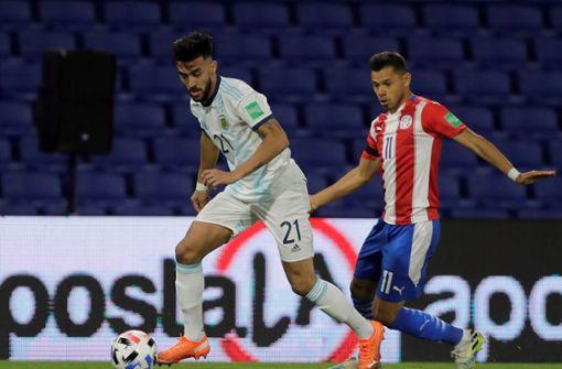 Nicolas Gonzalez im erweiterten Argentinien-Kader