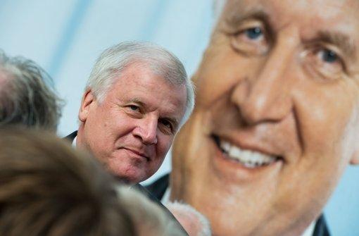 CSU-Chef Horst Seehofer will keine Gespräche über eine mögliche Regierungsbeteiligung der Grünen führen. Foto: dpa