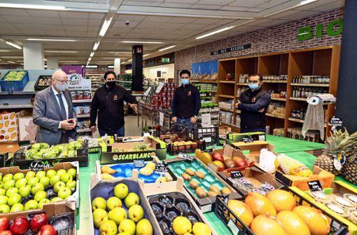 Laden-Neueröffnung nach langem Leerstand
