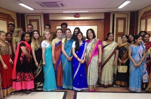 Schüler fahren nach Indien