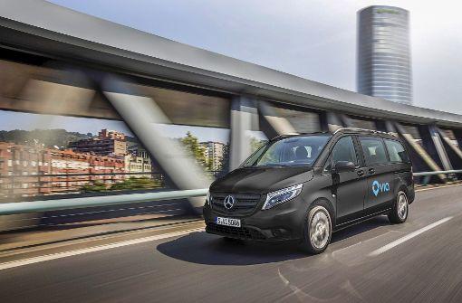 Daimler bietet in Städten Mitfahrdienst an