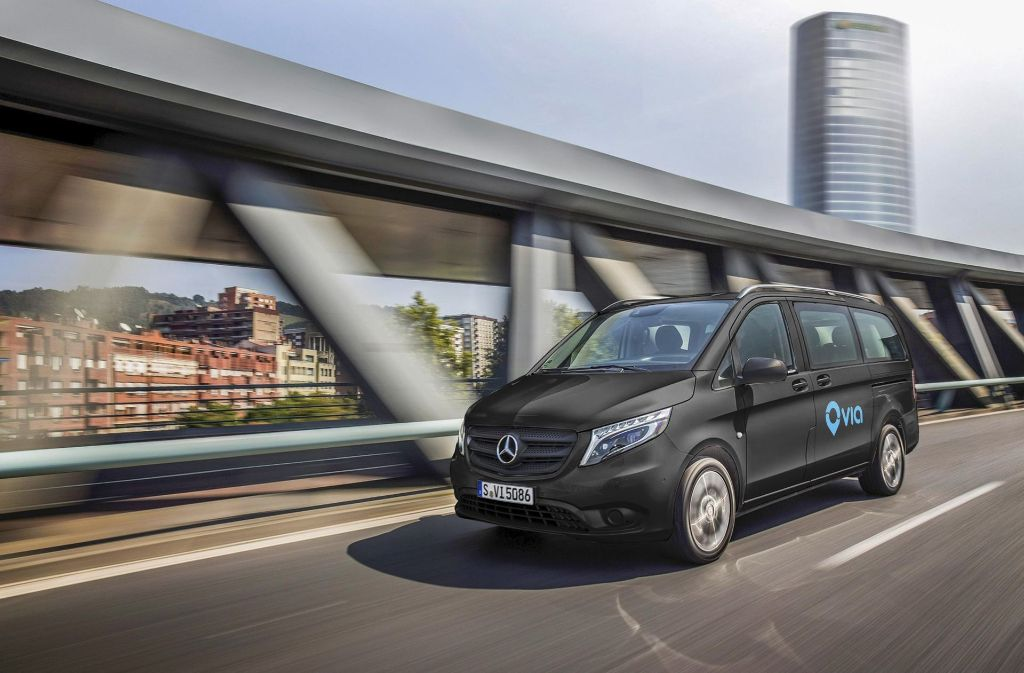Daimlers Sparte Mercedes-Benz Vans gründet mit dem US-Start-up Via ein Joint Venture. Foto: Daimler