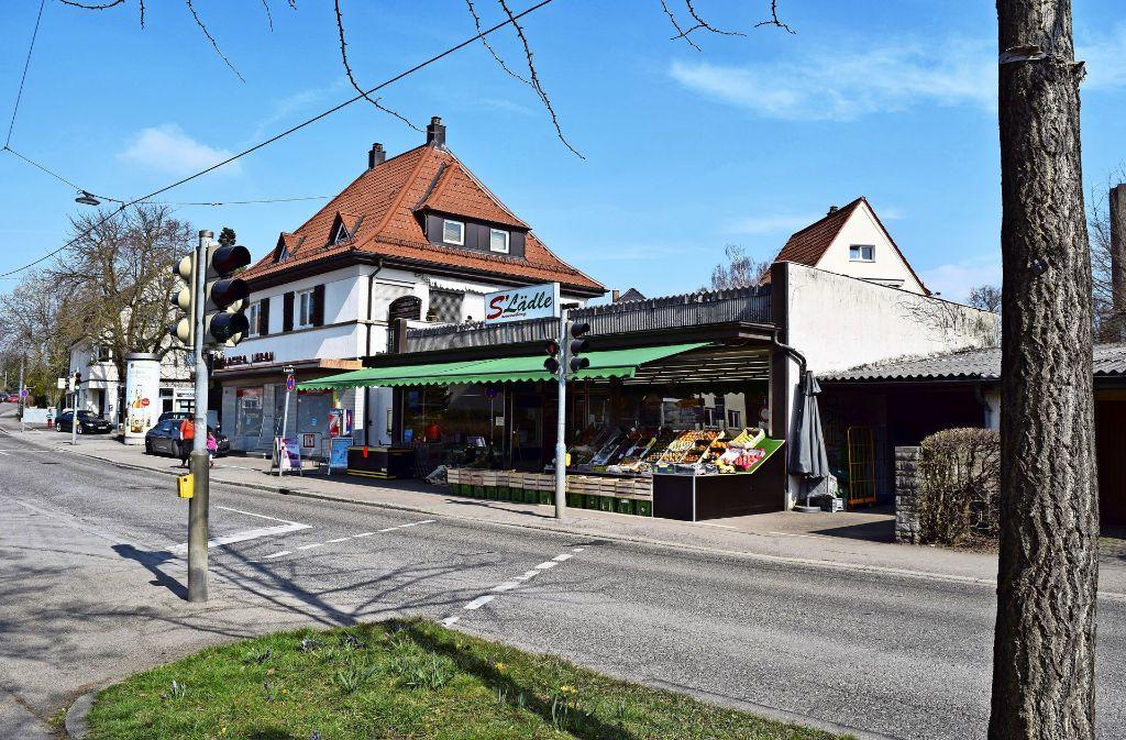 Seit zwei Jahren gibt es S' Lädle an der Laustraße. Doch manch einer befürchtet, dass die Geschäfte in Sonnenberg in Gefahr sind, wenn der neue Bebauungsplan gilt. Foto: Archiv A. Kratz
