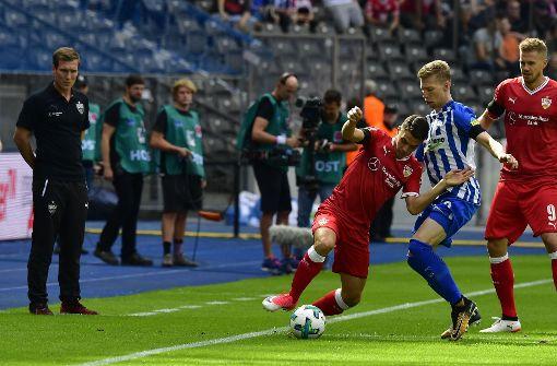VfB Stuttgart verliert in Berlin mit 2:0