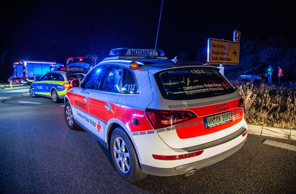 Der Unfall ereignete sich kurz nach einem Kreisverkehr.  Foto: SDMG