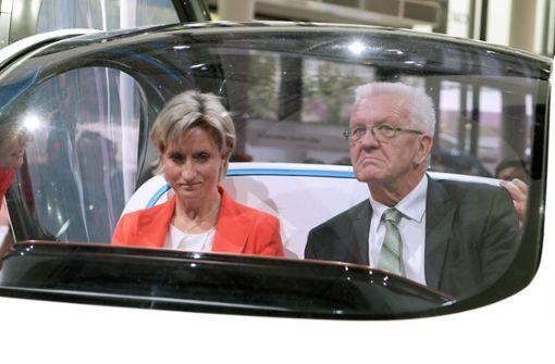 Die Dienstwagen-Wahl der Minister ist inkonsequent