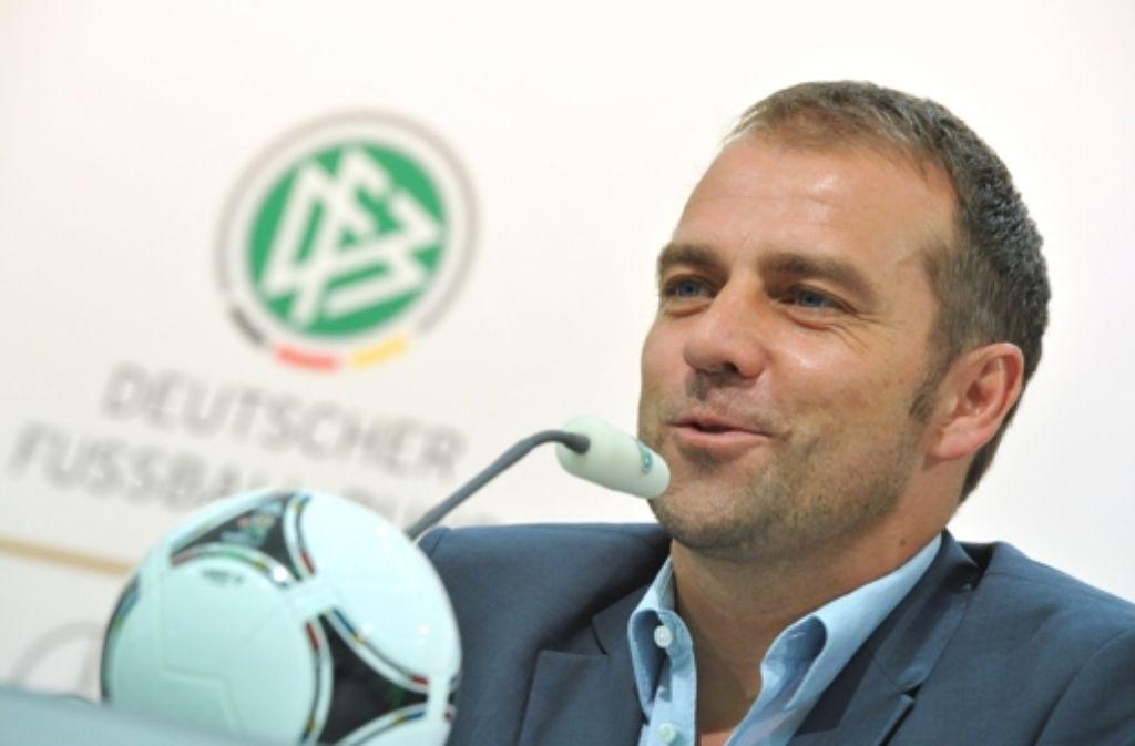 Hansi Flick sorgte mit seiner Wortwahl bei einer Pressekonferenz für Aufsehen. Foto: dpa