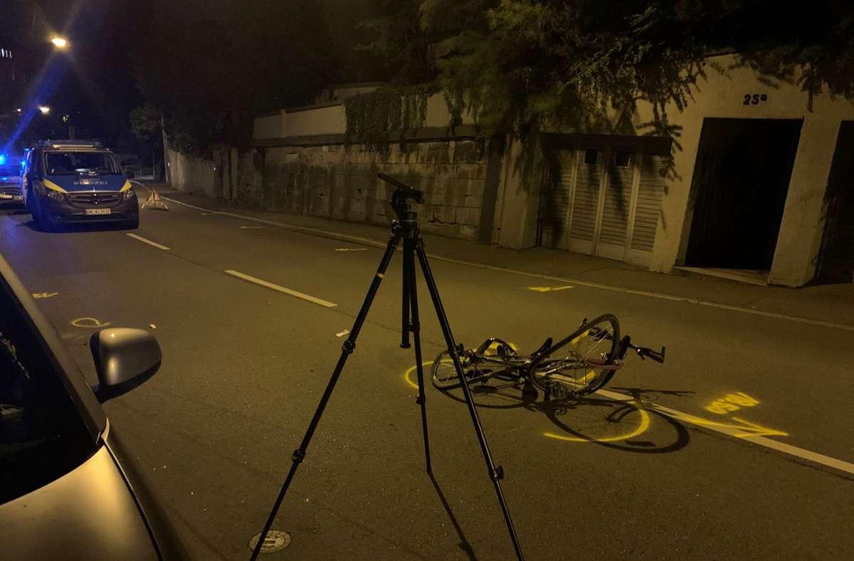 Im Juni wurde ein Fahrradfahrer auf der Neuen Weinsteige von einem Tiguan erfasst und schwer  verletzt. Der Unfallverursacher floh, wurde aber später ermittelt. Foto: privat