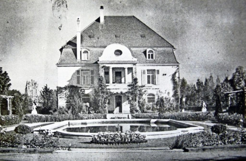 In der Villa des Ehepaars Leicht war ab 1940 die Mädchenoberschule untergebracht Foto: z