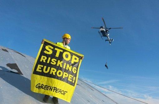 Greenpeace besorgt um Atomkraftwerk