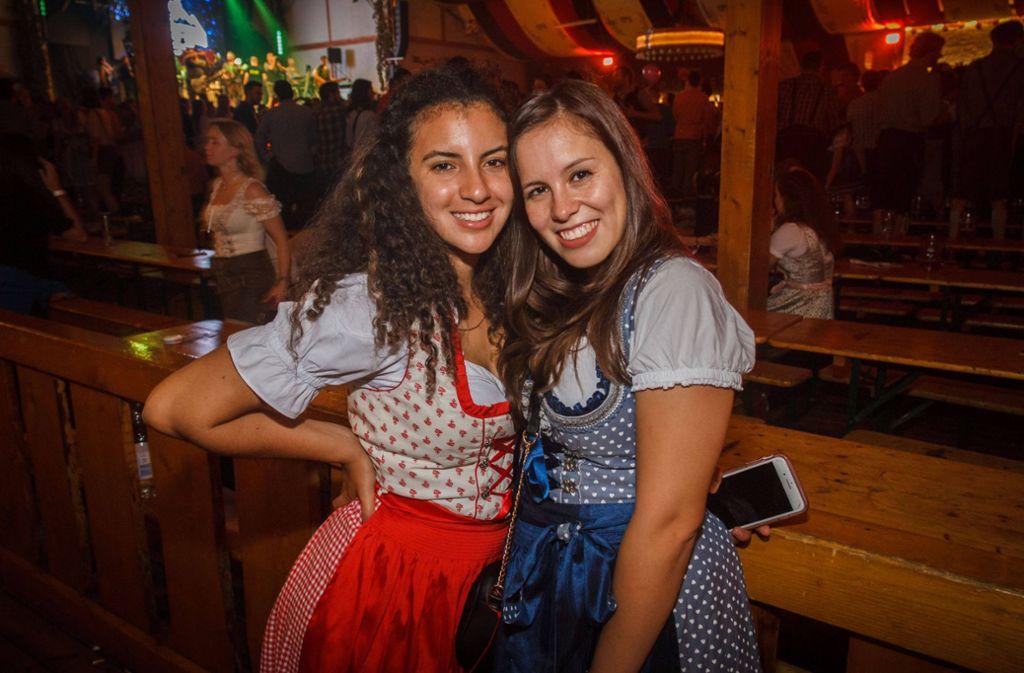 Die Studentennacht im Wasenwirt lockte am Sonntag zahlreiche Besucher ins Festzelt. Foto: 7aktuell.de/Daniel Boosz