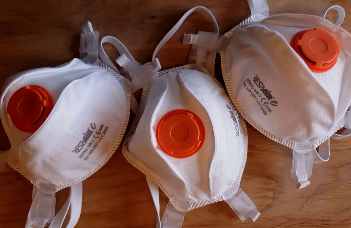 FFP3-Masken. Foto: Agnieszka Pas / shutterstock.com