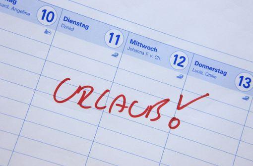 Wie lange hält der Urlaubsanspruch?