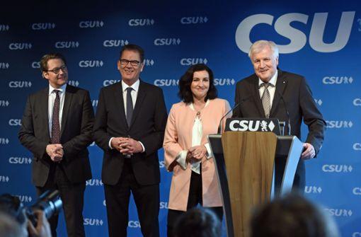 CSU holt   vierten Kabinettsposten
