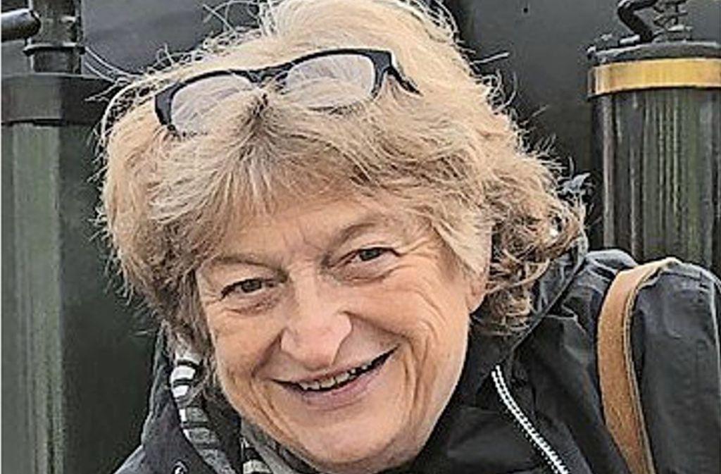 Sie ist immer auf Kennzeichenjagd: Ingrid von Olnhausen-Feuchter Foto: Olnhausen-Feuchter