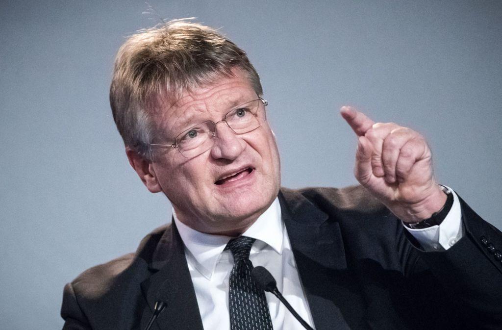 Für den AfD-Vorsitzenden  Jörg Meuthen bringt das Jahr 2019 gleich mehere Richtungsentscheidungen mit sich. Foto: dpa