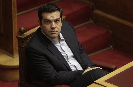 Tsipras stellt sich der Vertrauensfrage