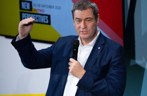 Markus Söder fordert neue Gespräche von Bund und Ländern
