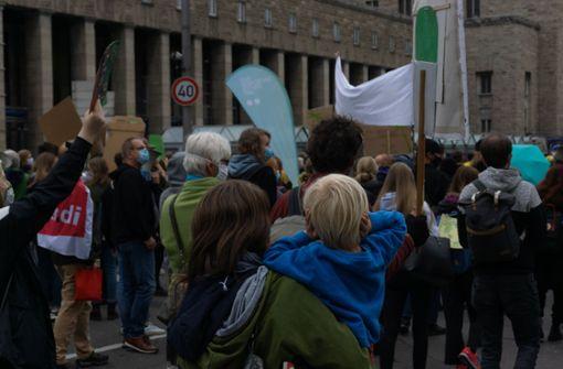 Ihre Bilder von Demonstrationen in Stuttgart