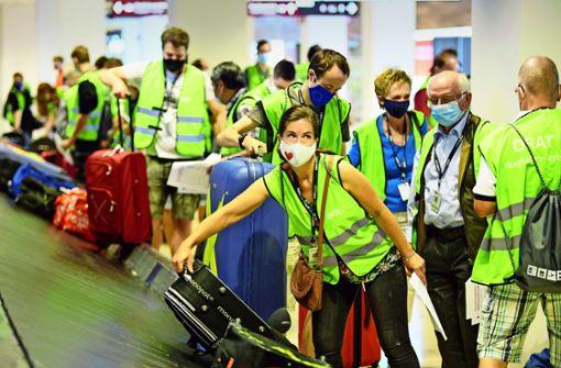 Endspurt am Pannen-Airport