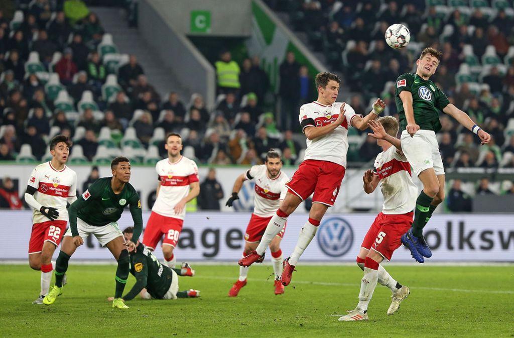 Der VfB Stuttgart hat am 16. Spieltag beim VfL Wolfsburg verloren. Unsere Redaktion hat die Leistungen der VfB-Profis wie folgt bewertet. Foto: Pressefoto Baumann