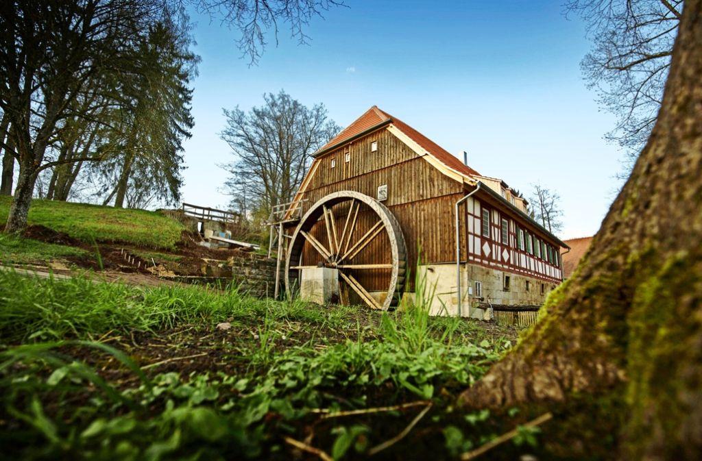 Die Meuschenmühle war bereits Filmkulisse und mehrmals Schauplatz des offiziellen Mühlentagsauftakts im Rems-Murr-Kreis Foto: Gottfried Stoppel