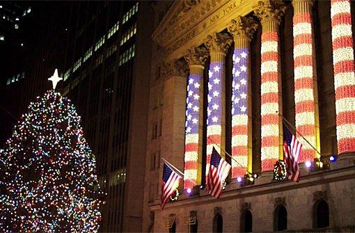 Weihnachtsshopping in New York