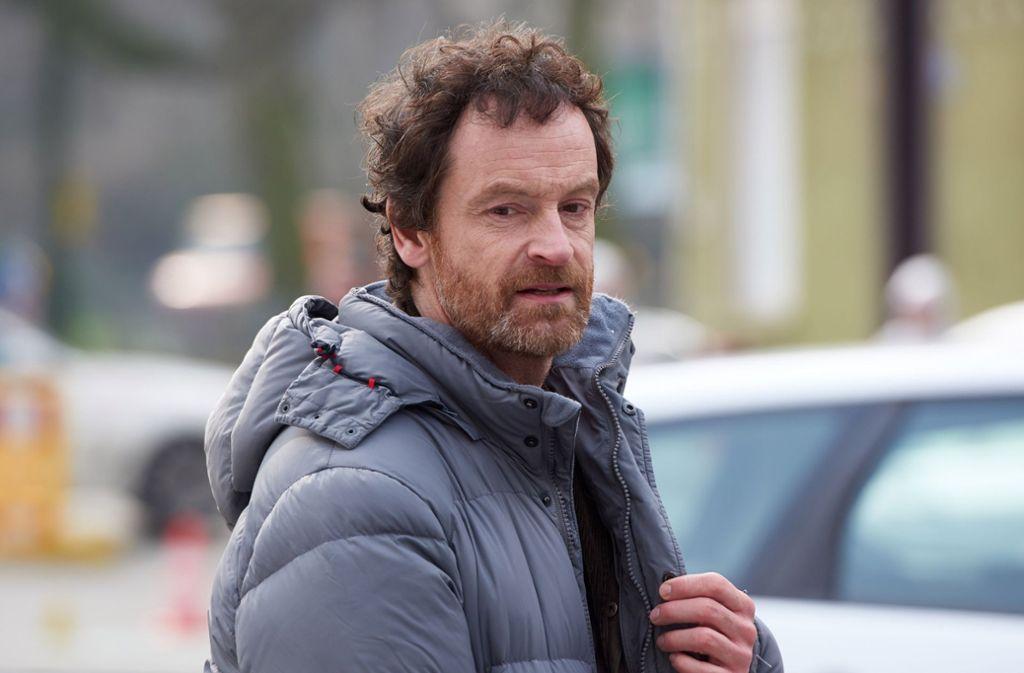 Diesmal nicht der verrückteste: Kommissar Faber, gespielt von Jörg Hartmann. Foto: dpa/Bernd Thissen