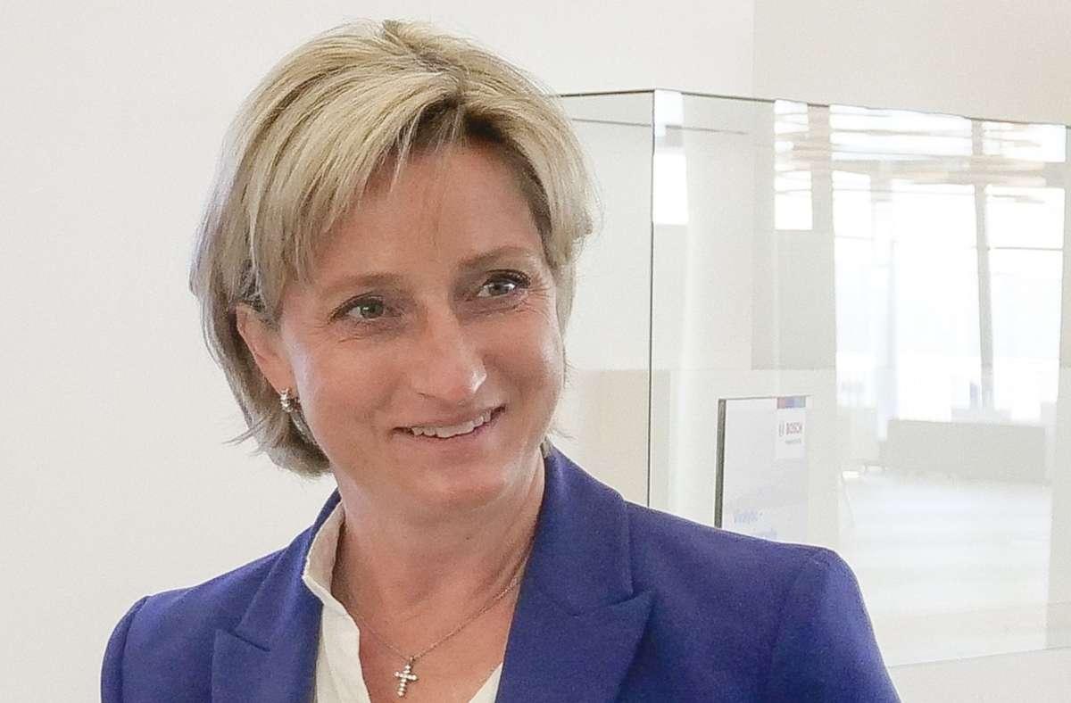 Nicole Hoffmeister-Kraut, Baden-Württembergs Wirtschaftsministerin, spricht sich gegen eine Homeoffice-Pflicht für Unternehmen aus. (Archivbild) Foto: factum/Simon Granville