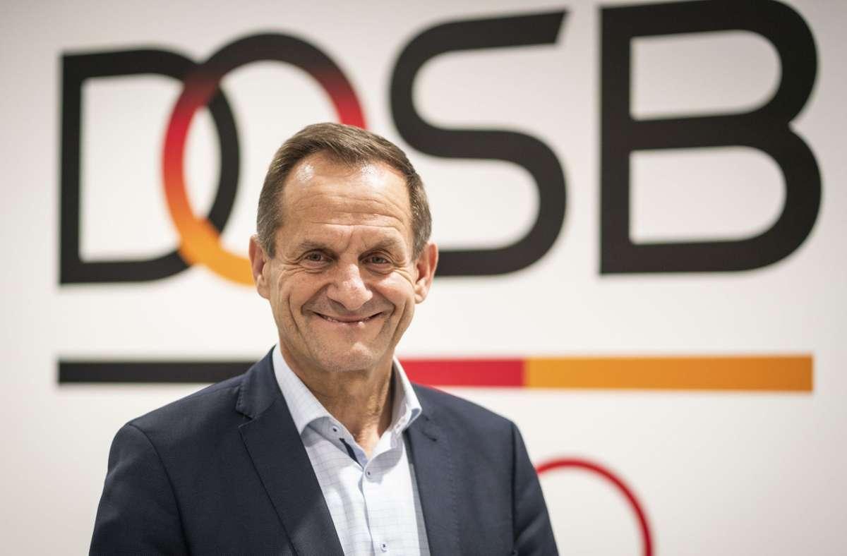 DOSB-Präsident Alfons Hörmann Foto: dpa/Frank Rumpenhorst
