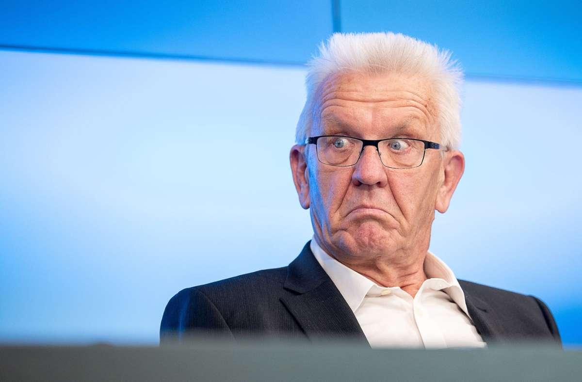Winfried Kretschmann hält eine Rückkehr von 20 bis 30 Prozent der Fans für vorstellbar. Foto: dpa/Sebastian Gollnow