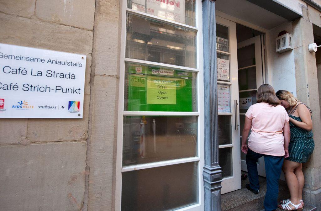 Eine Zufluchtswohnung an einem anderen Ort würde das Café La Strada gut ergänzen. Foto: Lichtgut/ Willikonsky