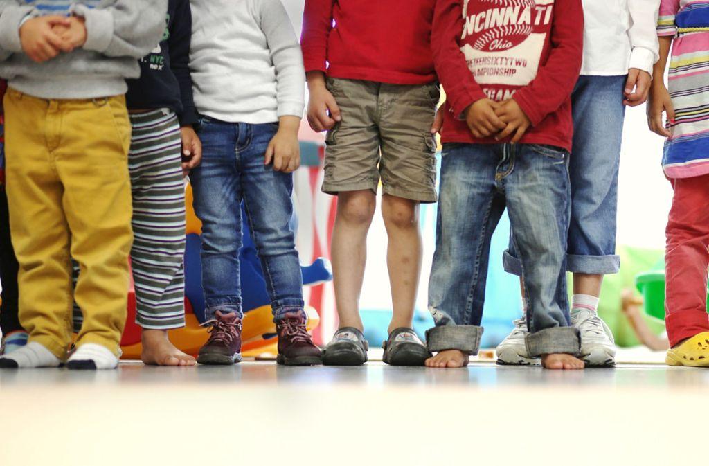 In Stuttgart haben 60 Flüchtlingskinder noch keinen Kitaplatz. Foto: dpa