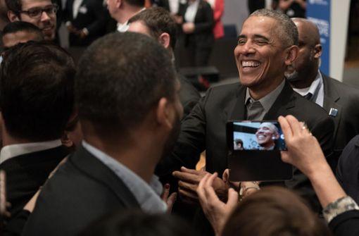 Obama ruft Jugend zum Engagement auf
