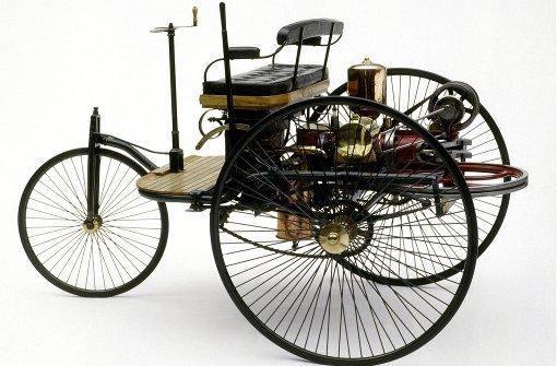 Bertha Benz in der Wilhelma