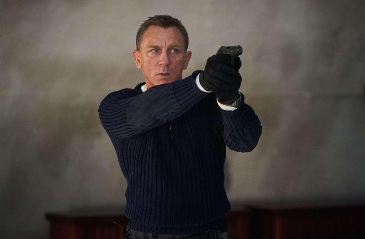 """""""Keine Zeit zu sterben"""" – das ist der Titel des durch die Corona-Krise immer weiter verschobenen neuen James-Bond-Films mit Daniel Craig. Foto: dpa/Nicole Dove"""