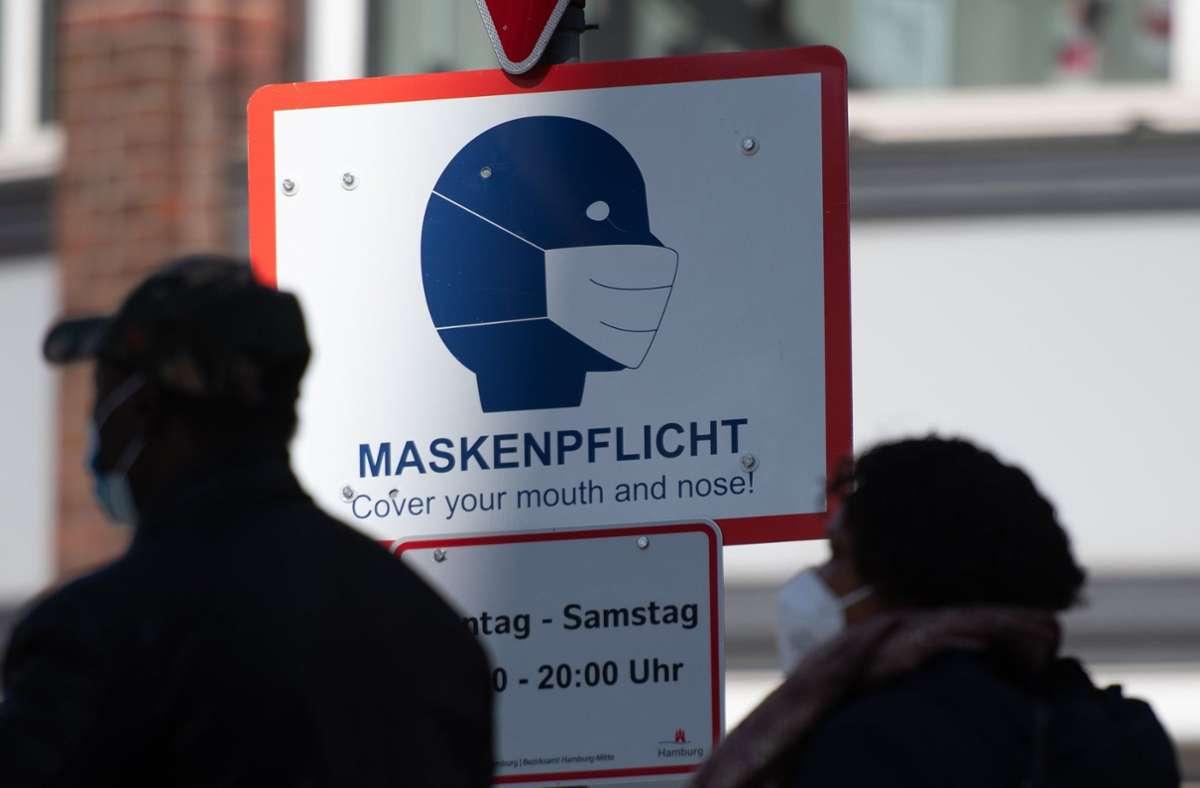 Das RKI zählte seit Beginn der Pandemie 3 433 516 nachgewiesene Infektionen mit Sars-CoV-2 in Deutschland (Symbolbild). Foto: dpa/Daniel Reinhardt
