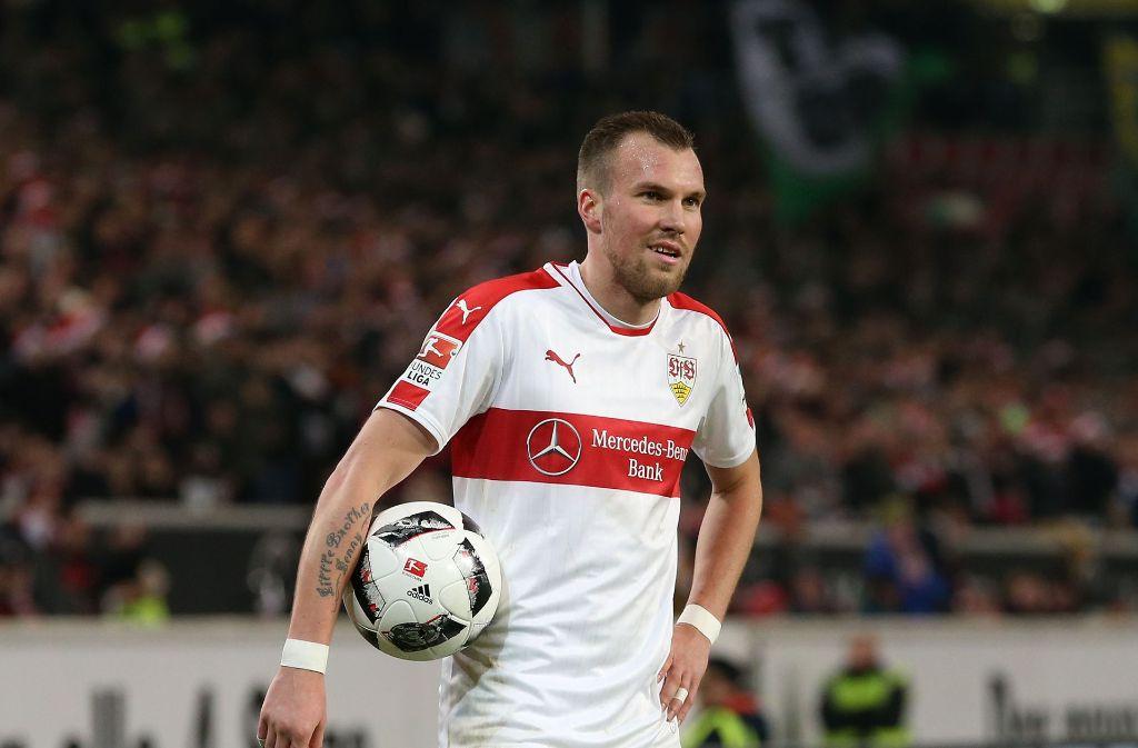 VfB-Spieler Kevin Großkreutz muss sich nach einer Schlägerei weiterhin im Krankenhaus behandeln lassen. (Archivbild) Foto: Pressefoto Baumann