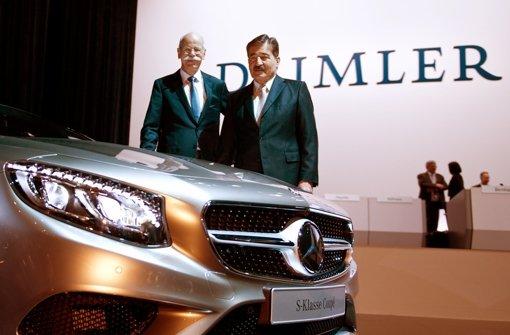 Daimler-Aufsichtsratschef soll bleiben