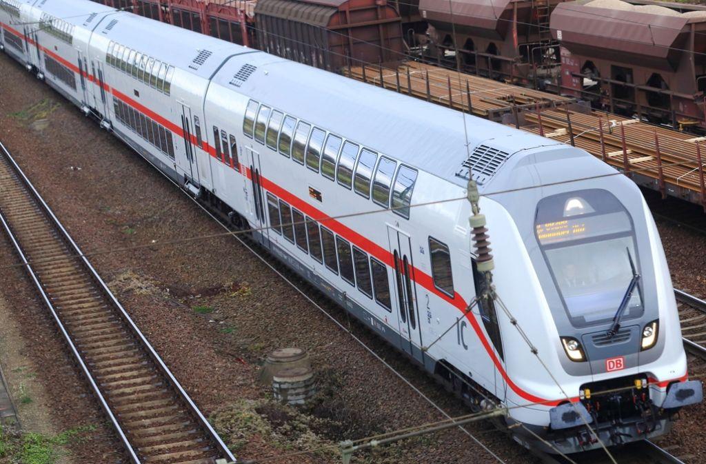 Ein Intercity zwischen Hannover und Berlin musste gestoppt werden. Foto: dpa-Zentralbild