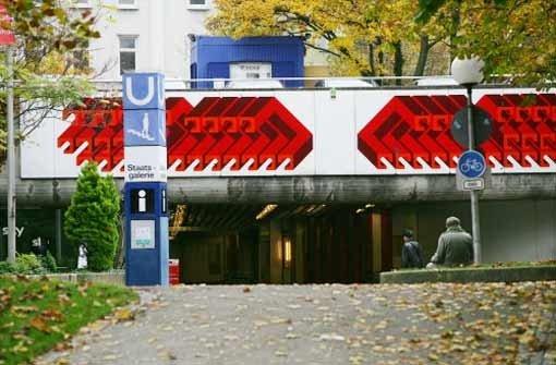 Um Platz für den neuen Tiefbahnhof und den Fernzugtunnel zu schaffen, müssen zuvor Stadtbahnröhren tiefer oder höher gelegt und die Haltestelle Staatsgalerie neu gebaut werden. Foto: Zweygarth
