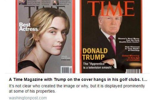 Fake News made by Donald Trump