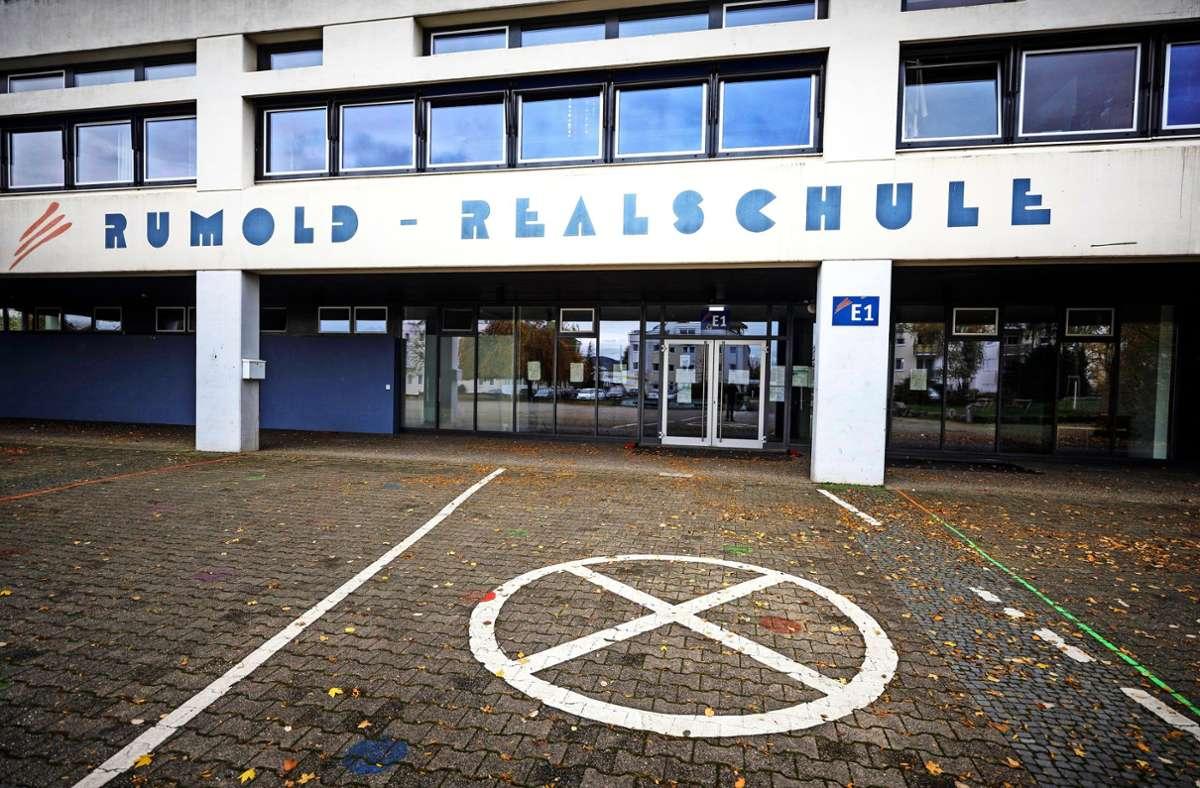 Am kommenden Montag soll nach Möglichkeit der normale Schulbetrieb in der Rumold-Realschule in Rommelshauen wieder starten. Foto: /Gottfried Stoppel
